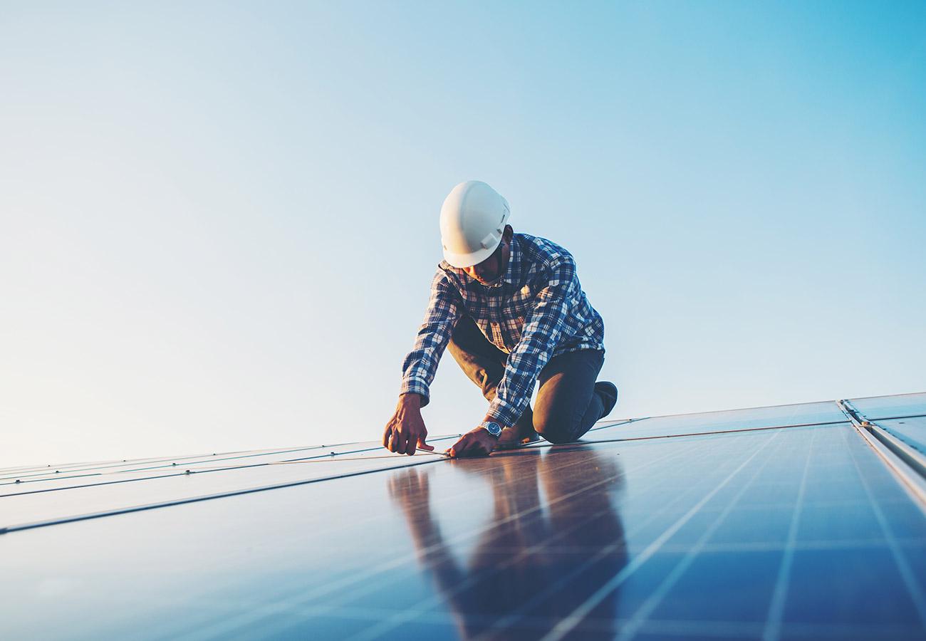 BAUR Gebäudetechnik Leistungen Regenerative Energie